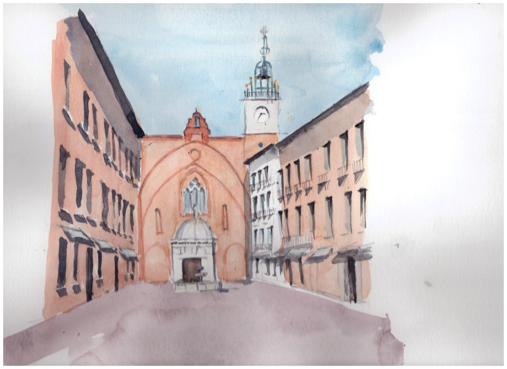 La cathédrale St Jean Baptiste Juin-2016