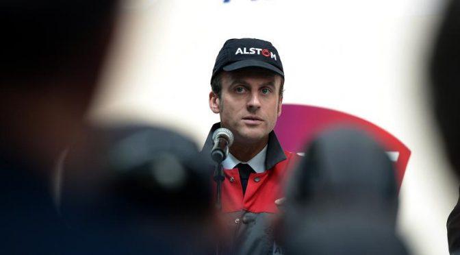 Alstom c'est la faute à Macron ?